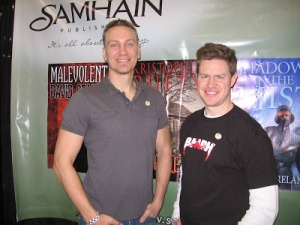 HorrorHound2013 mycam Jonathan Janz